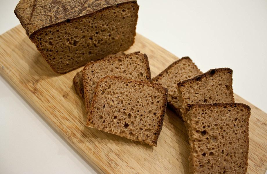 Ржаной хлеб устраняет грубость