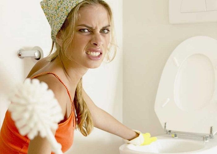 Самые грязные места требуют и регулярной уборки