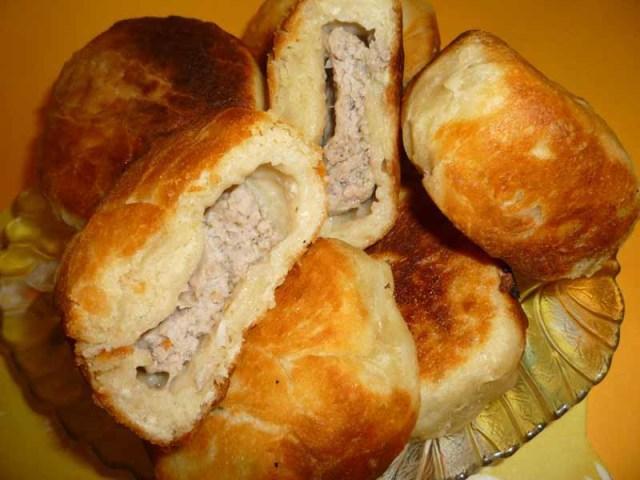 беляши с мясом рецепт в духовке с фото
