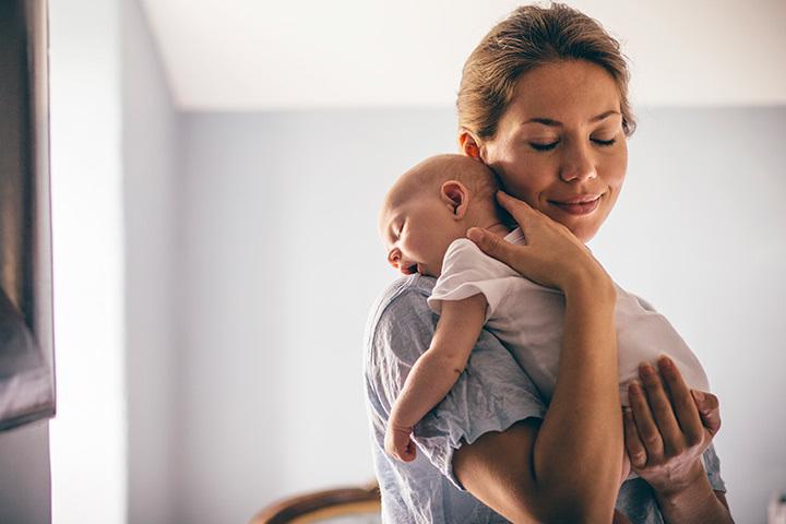 Правильно держать ребенка