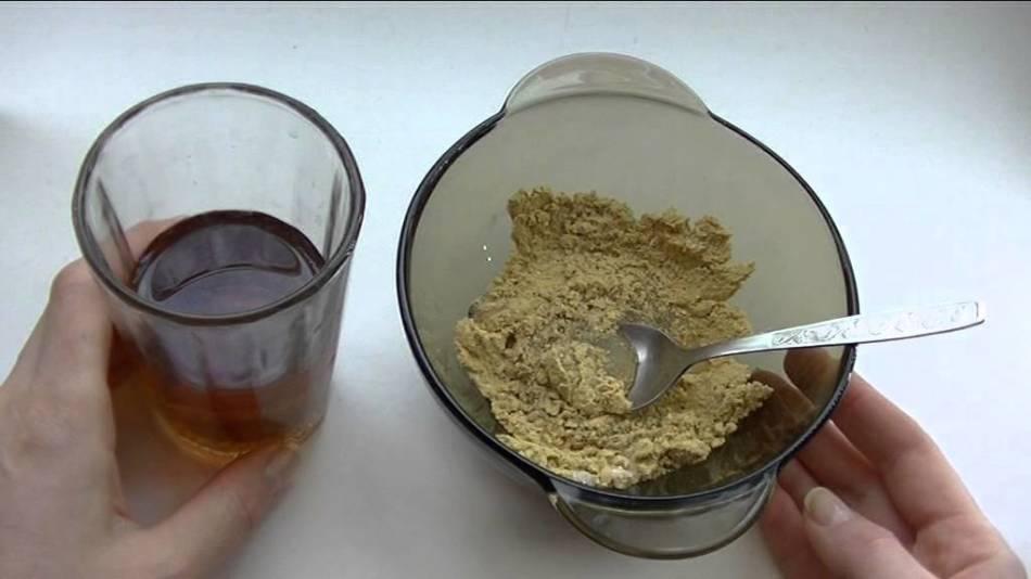 Классический рецепт горчичной маски для волос