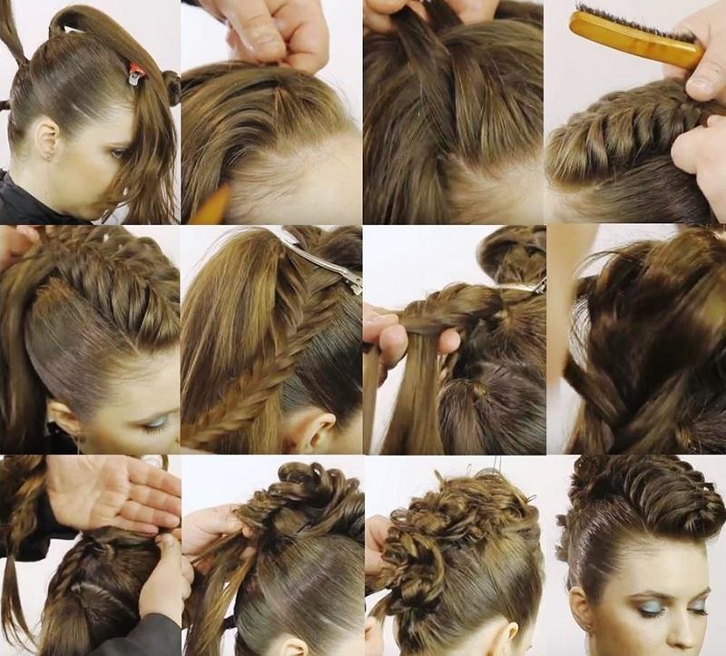 необыкновенную красивую плетем косы с фото пошагово менухин стал легендой