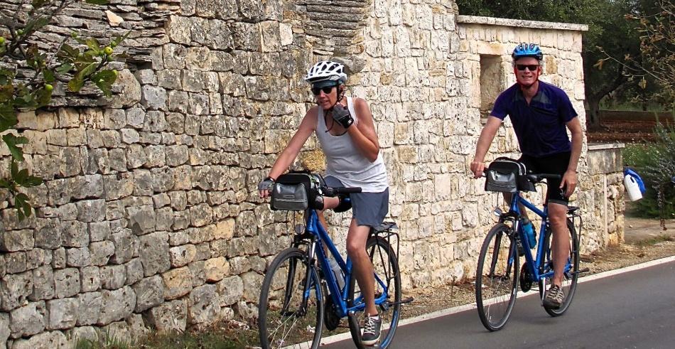 Прокат велосипедов в апулии, италия