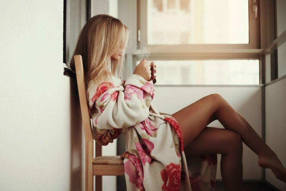 После ванны с солью нужно сразу облачиться в домашнюю одежду, не стирая солевой налет с кожи