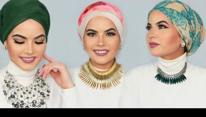 shapochka Как красиво завязать на голову шарф разными способами? Как красиво и стильно завязать шарф на голове летом, с пальто, мусульманке?