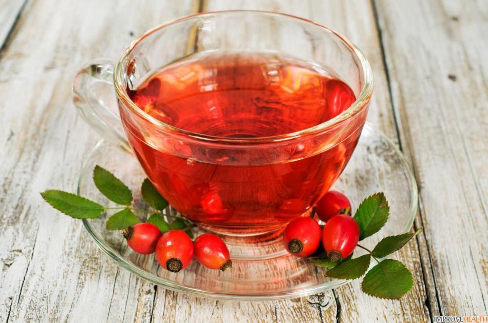 Напиток из шиповника для профилактики простудных заболеваний