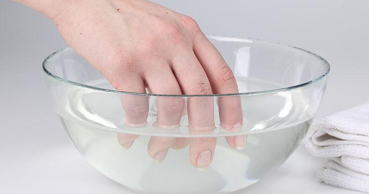 Содовая ванночка для ногтей