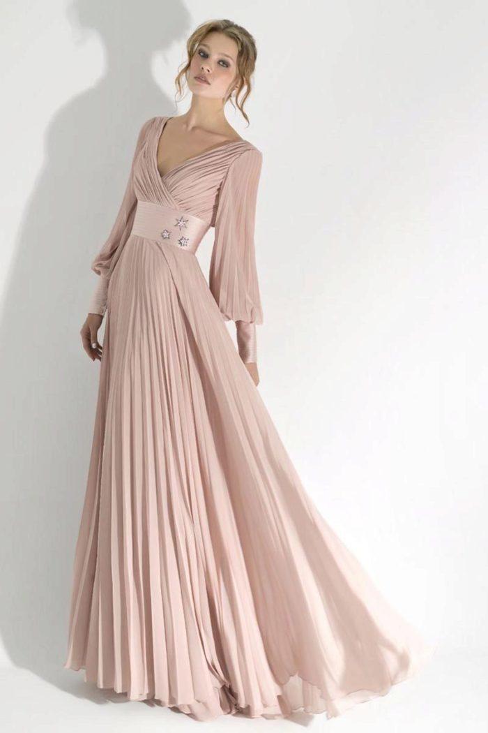 7ab0054dd4c Шифоновое платье на выпускной-2019 придаст легкости