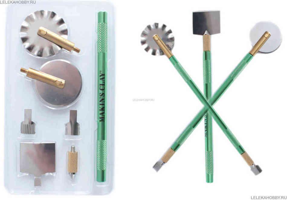 instrumenti-dlya-lepki-iz-glini Что можно сделать из глины (фото)