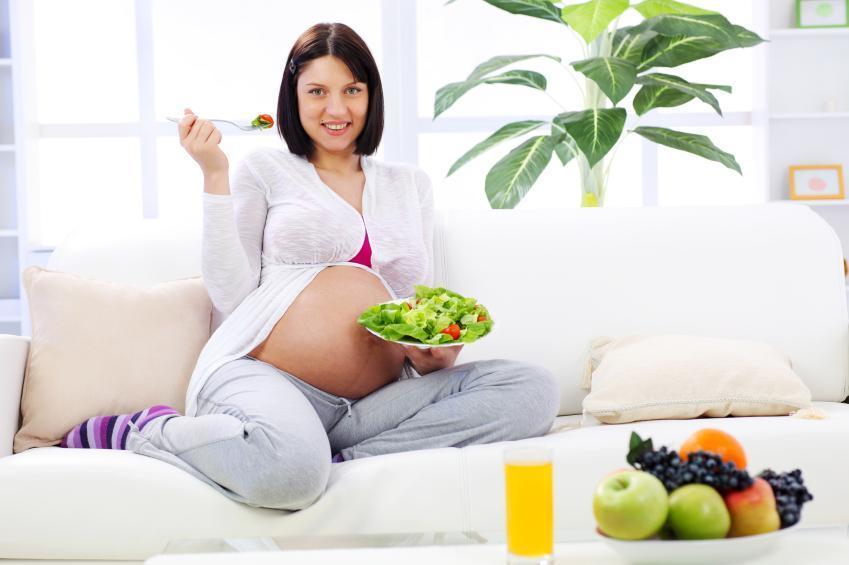 режим дня и питание беременной женщины