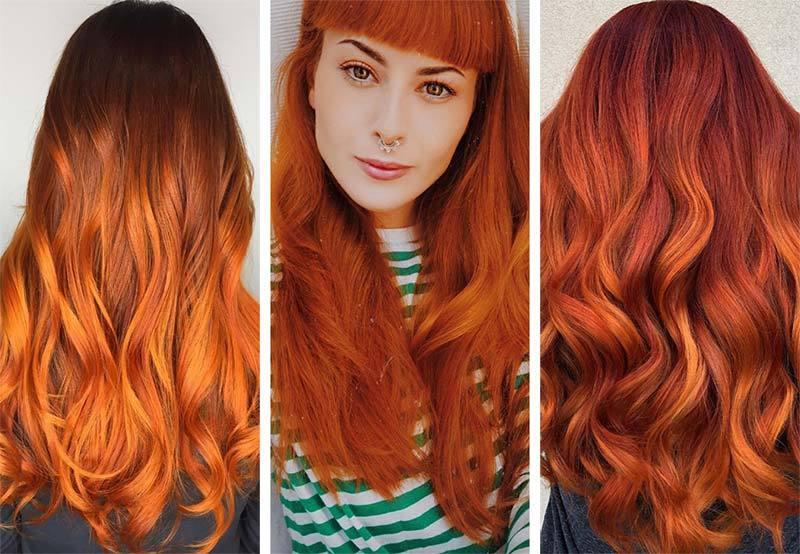 Рыжие волосы 1