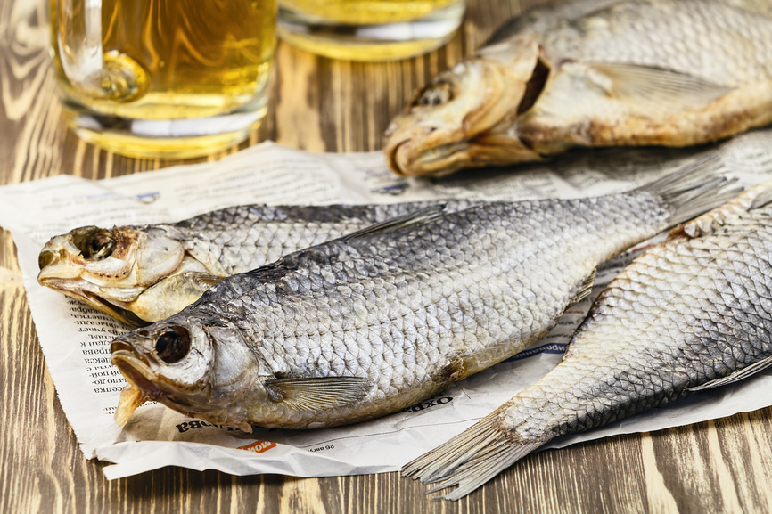 Засушивание рыбы