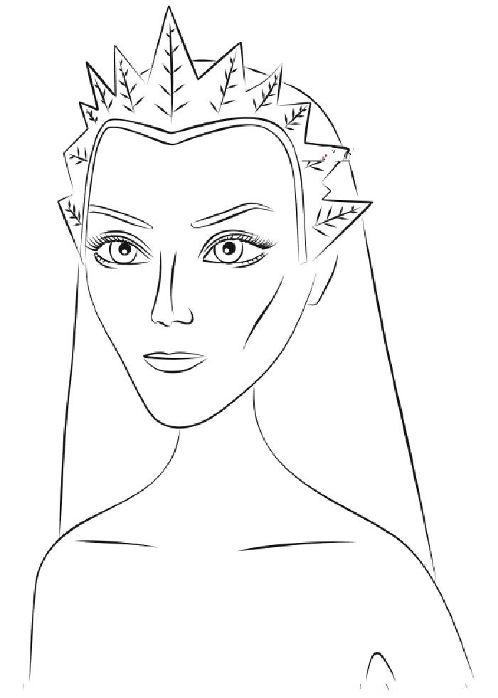 Снежная королева картинки из сказки карандашами