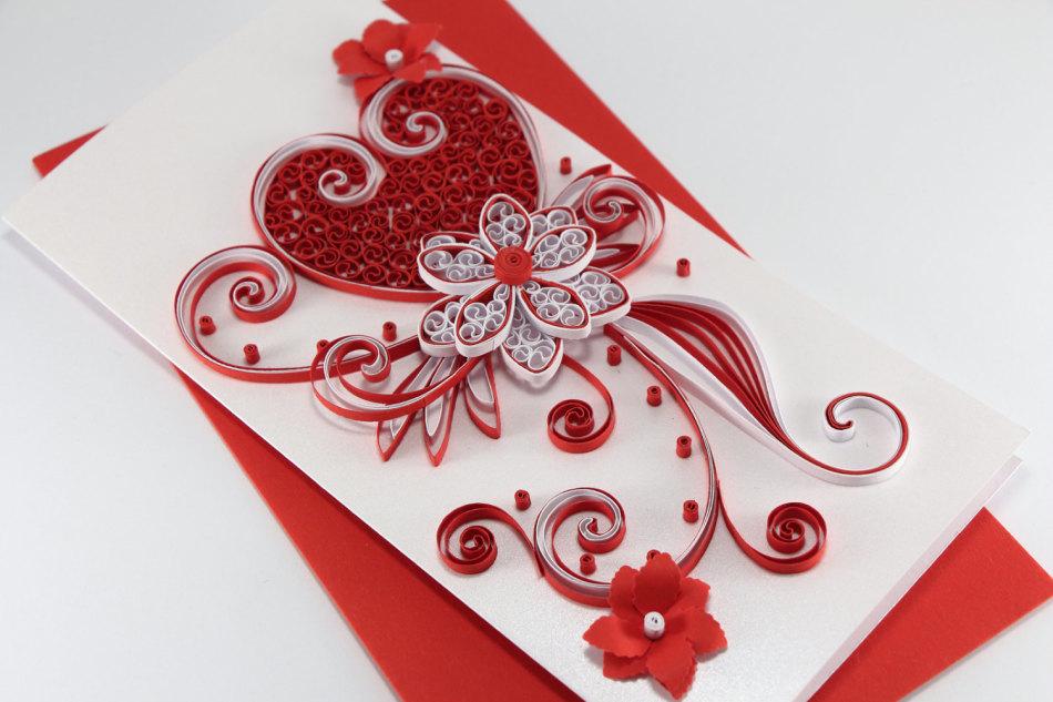Как красиво украшать открытки