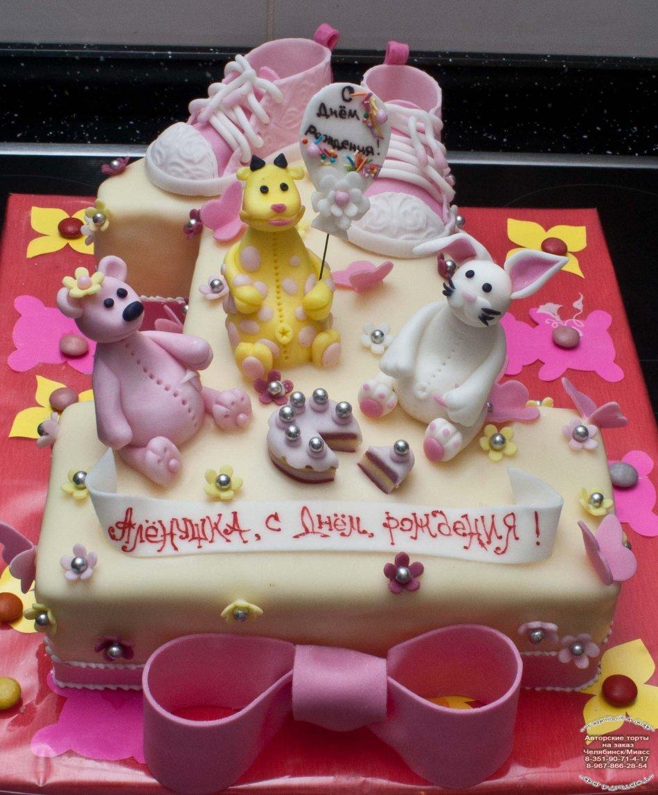 Рецепт простого торта на день рождения своими руками фото 968