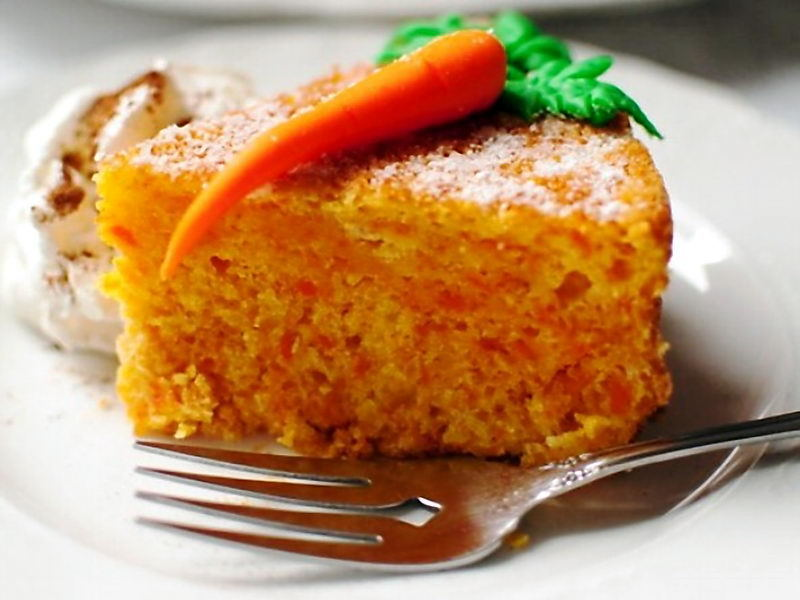 Морковный кекс.