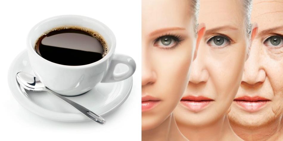Злоупоребление кофе приводит к старению организма.