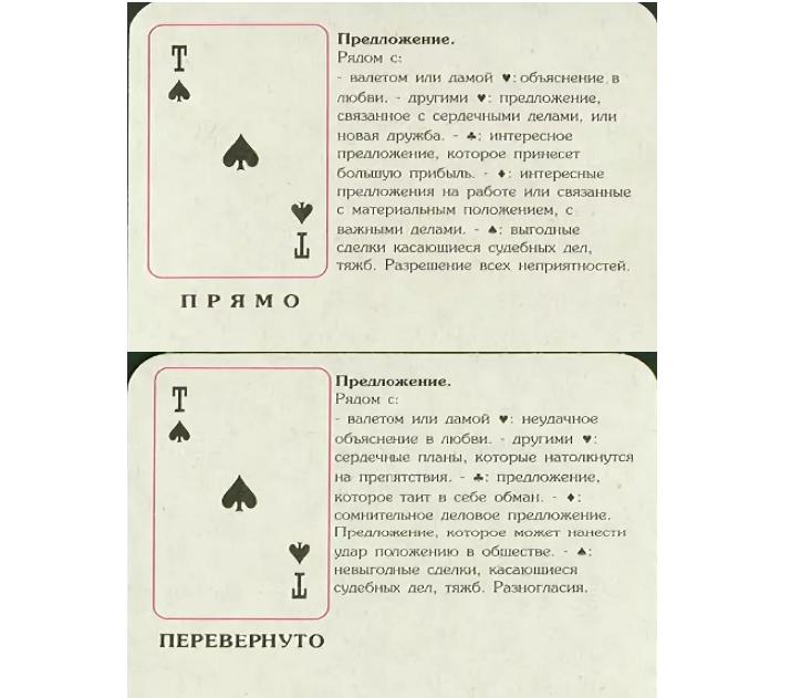 Сонник толкование гадание на картах гадание на игральных картах что же будет