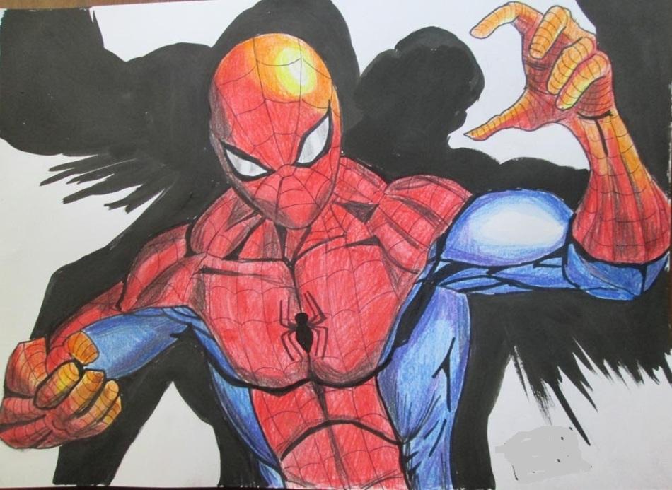 фото человека паука чтобы нарисовать вчера захотелось сделанном
