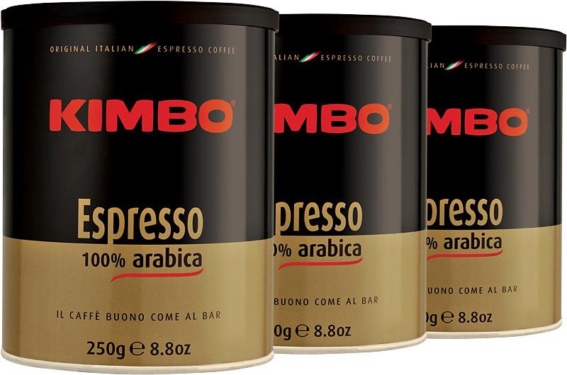 Рейтинг кофе: №7 молотый кофе кимбо