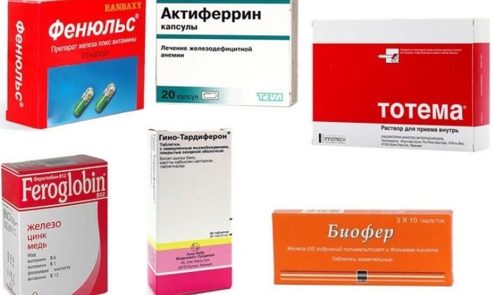 Аллергия на препараты железа