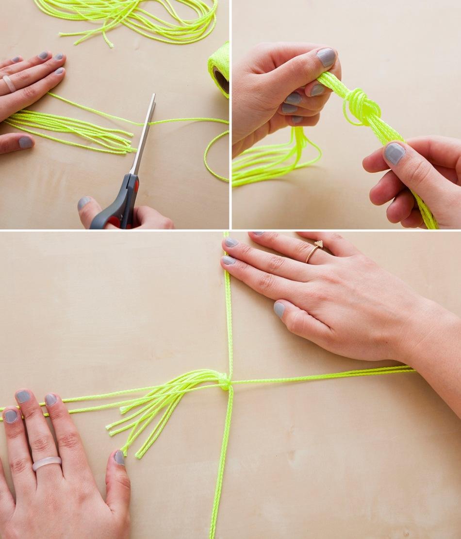 Вот как нужно начать изготавливать подвесное кашпо