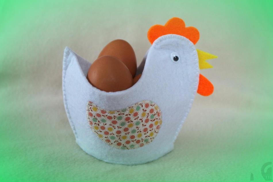 kurochka-iz-fetra Как сшить игрушку мишку своими руками MiR Handmade