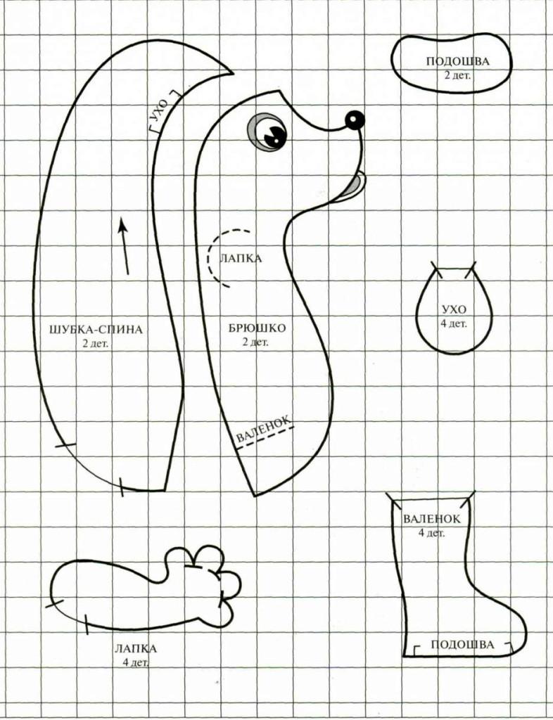 prostaya-vikroika-ezhika Как сшить игрушку мишку своими руками MiR Handmade