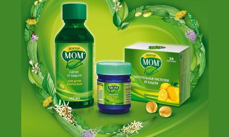 Доктор мом: лучшее средство в сиропе от сильного влажного и сухого кашля