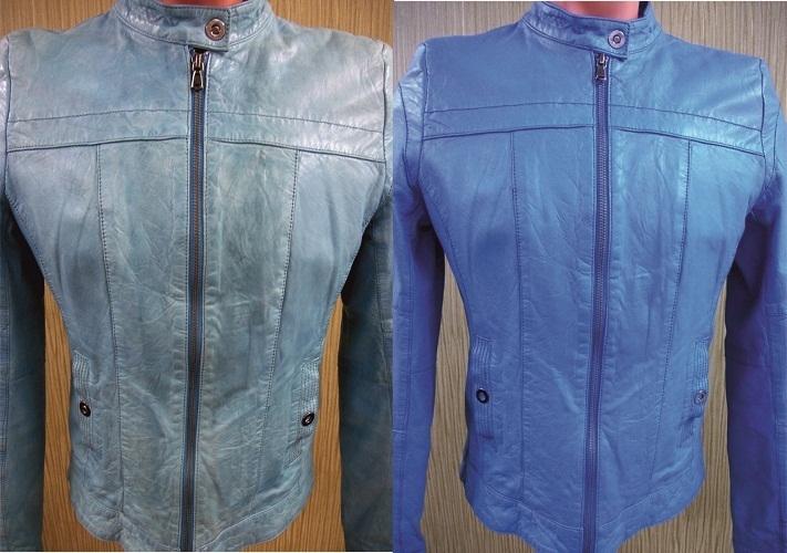 Покраска может превратить старую куртку в новую вещь