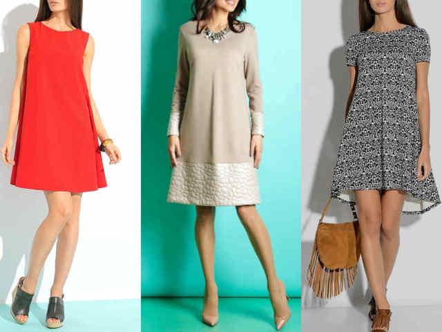 b567d411229faa8 Выкройка платья трапеция: что представляет собой фасон трапеция — схема  классической выкройки платья-сарафана. Платья трапеция для полных: схема  чертежа.
