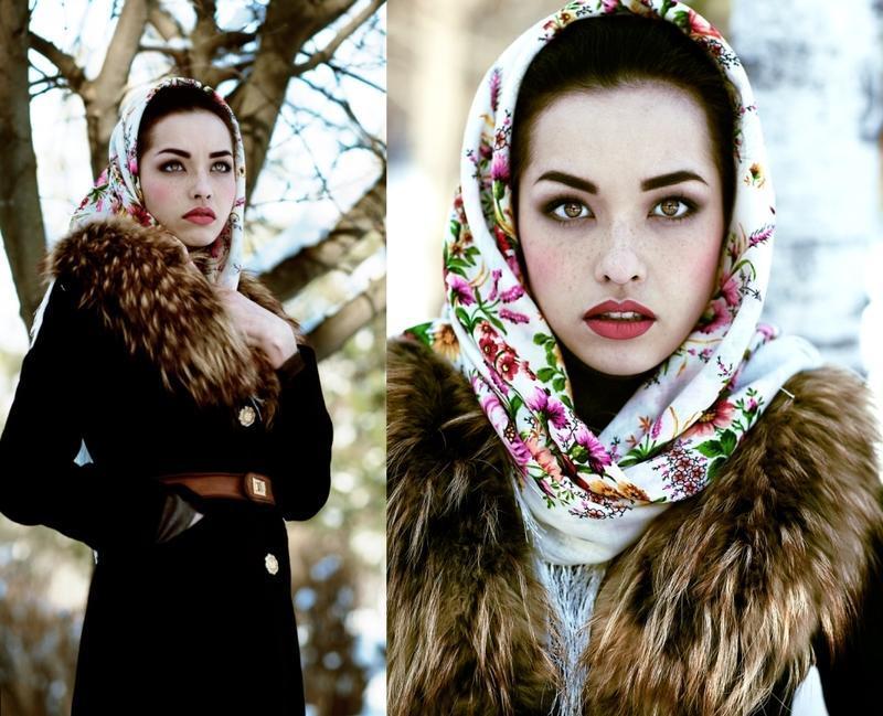 tehnika-3 Как красиво завязать на голову шарф разными способами? Как красиво и стильно завязать шарф на голове летом, с пальто, мусульманке?