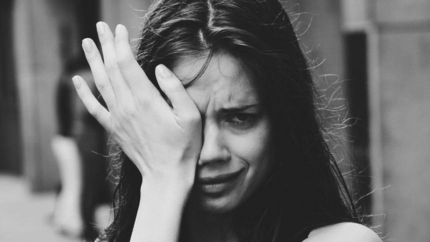 Слезы помогают снять напряжение