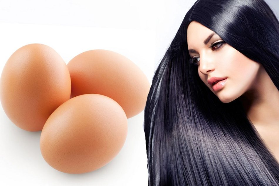 Яичная маска для жирных волос