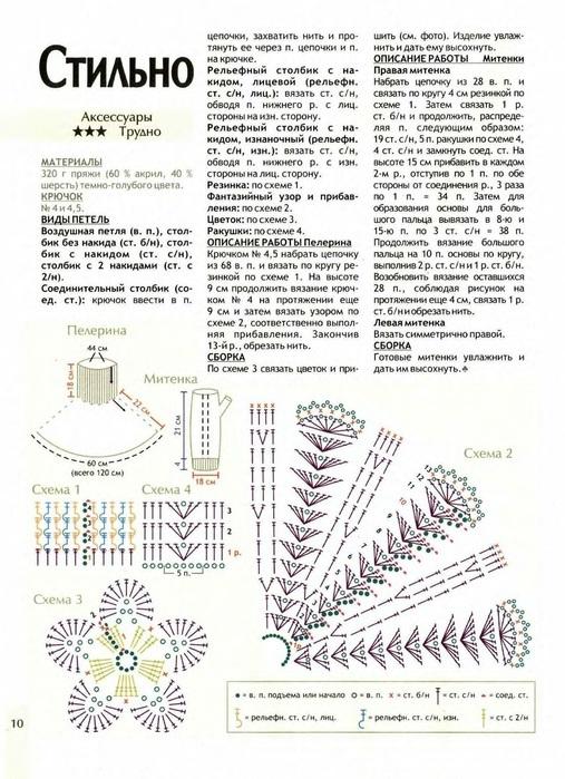 kak-svyazat-krasivuyu-azhurnuyu-manishku-dlya-zhenshin-kryuchkom-shema Схема и описание вязания манишки крючком для детей