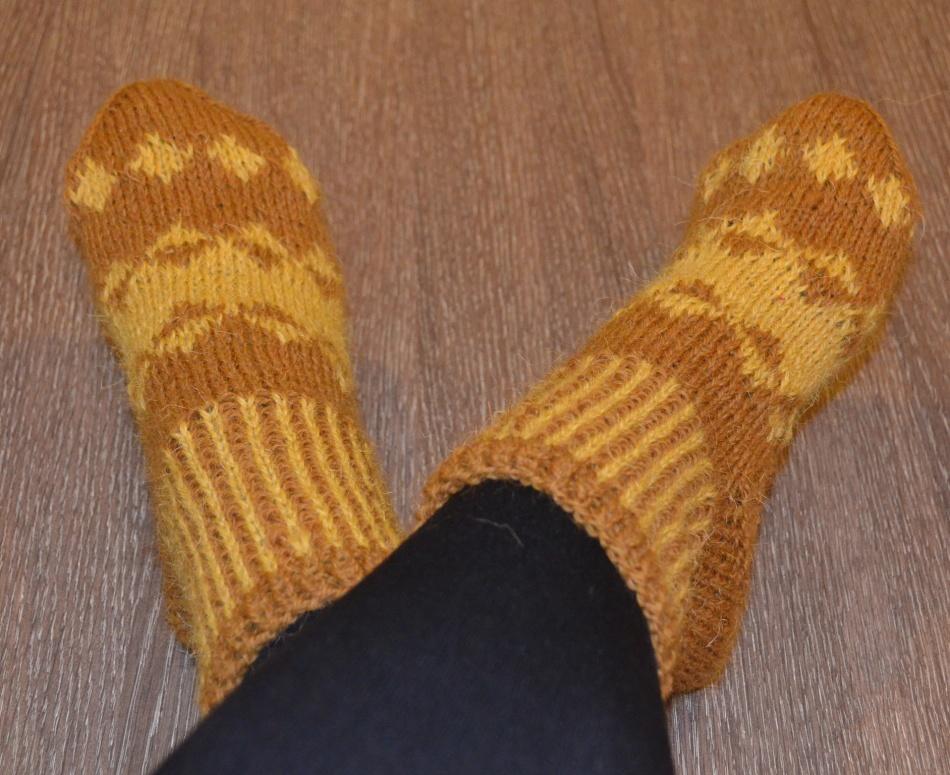 Горчичный порошок можно всыпать в носки.