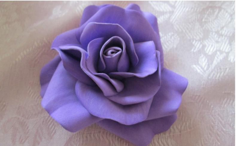 e0bdb615f8fab8fe43cc8f047370db8c Кустовые розы из фоамирана. Раскрывшаяся роза из фоамирана. мк юлии дубровской.