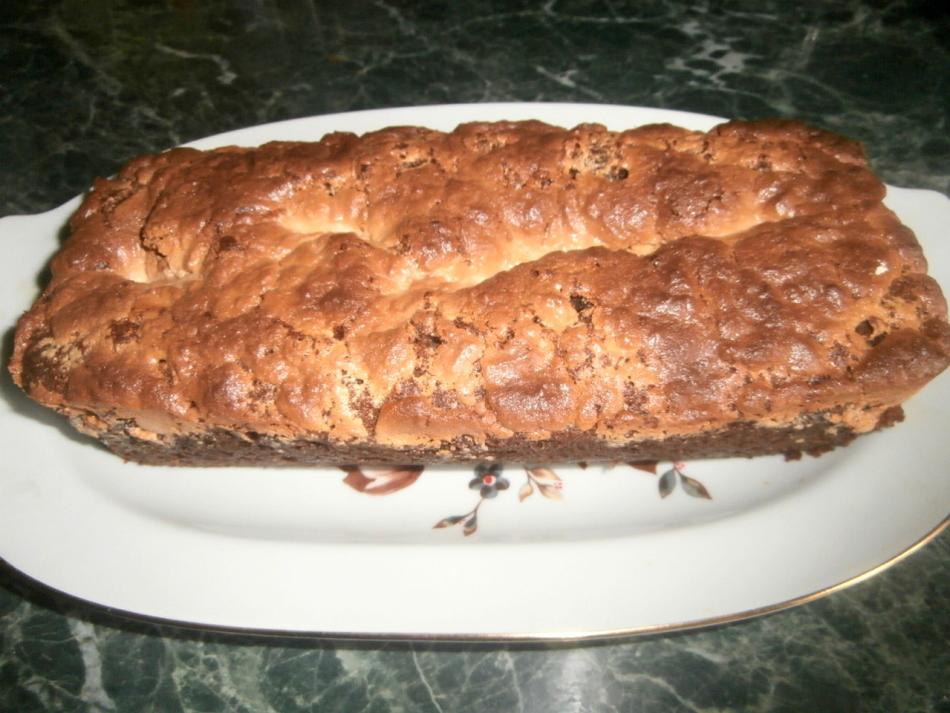 Пирог с халвой в духовке