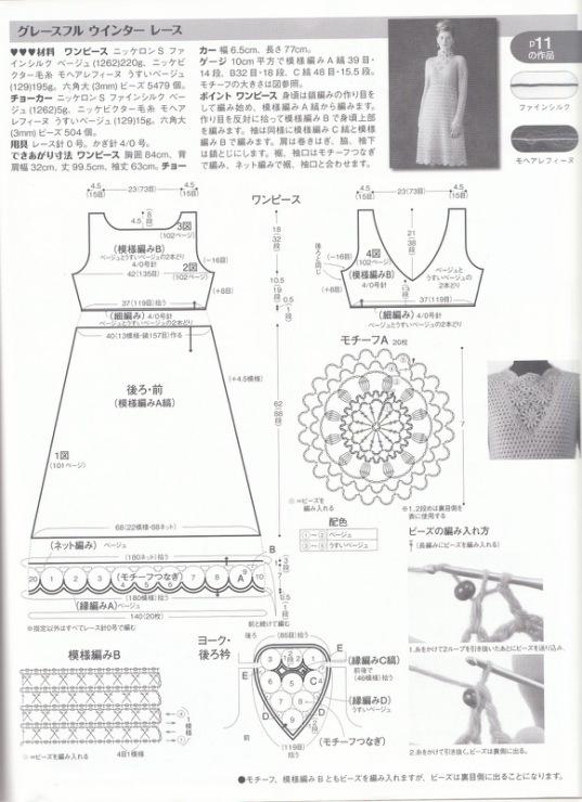 shema-platya Как связать платье спицами для женщин? Схемы и описания для начинающих и опытных 48 фото готовых моделей