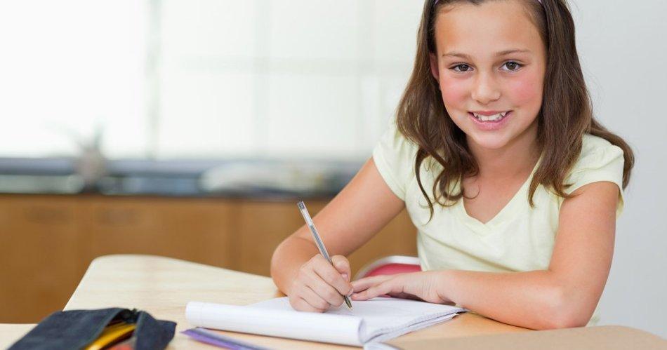 Обучение ребенка средних классов грамотно писать
