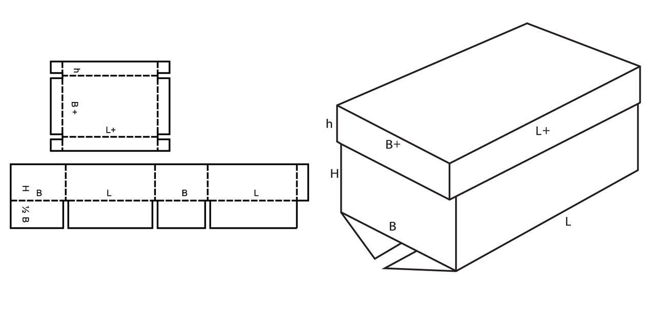 Как из картона сделать квадратную коробочку из картона своими руками фото 3