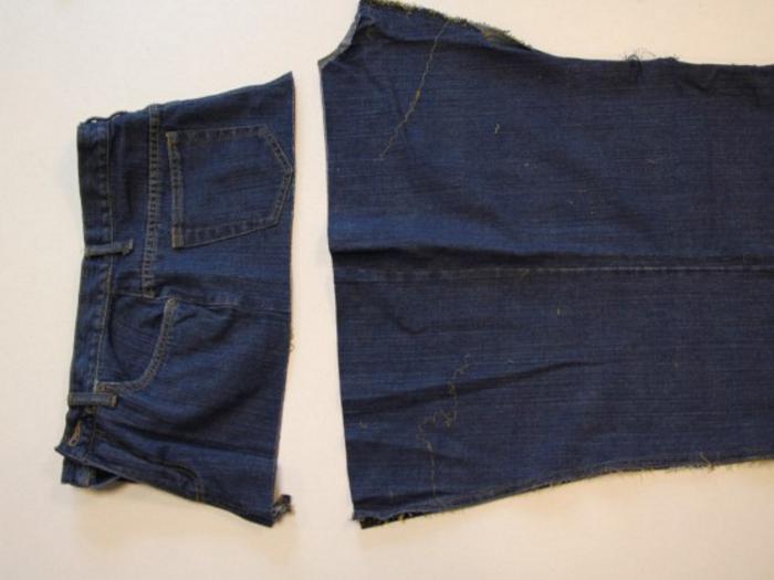 e1ff08f9f3f290f9832e5fbfeb6ce15c Сарафан из старых джинсов своими руками: выкройки, как сшить детский сарафан