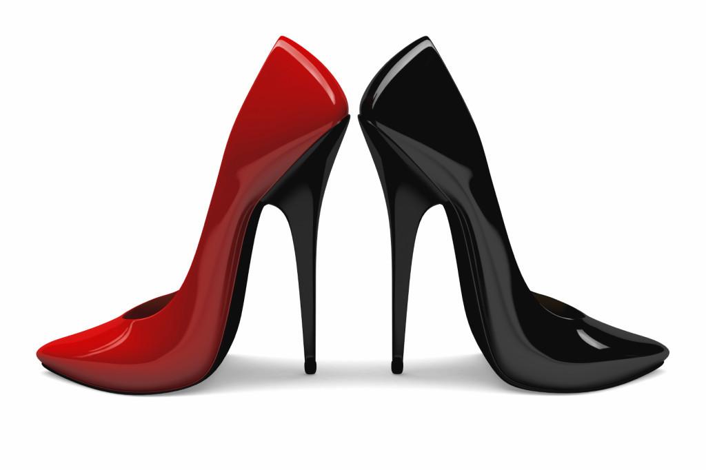 Высокие шпильки могут быть причиной болей в ногах