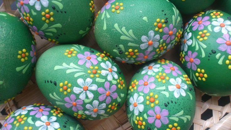 Заговор на пасхальные яйца