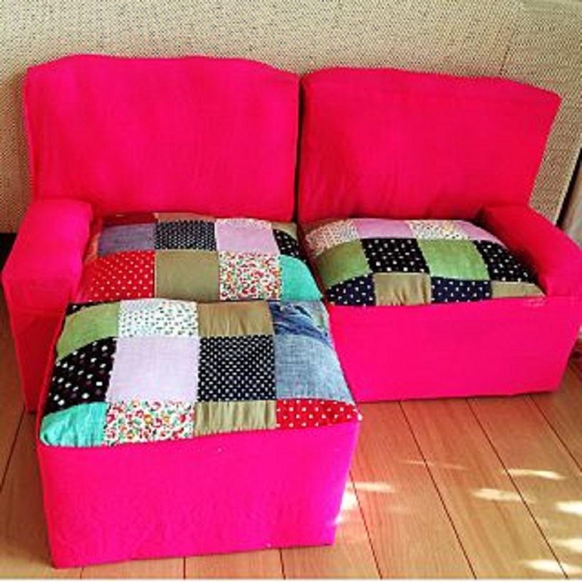 ugolok-iz-kartona-dlya-kukol Домик и мебель для кукол своими руками из картона: схема, выкройка, фото. Как сделать кровать, диван, шкаф, стол, стулья, кресло, кухню, холодильник, плиту, коляску для кукол из картона своими руками
