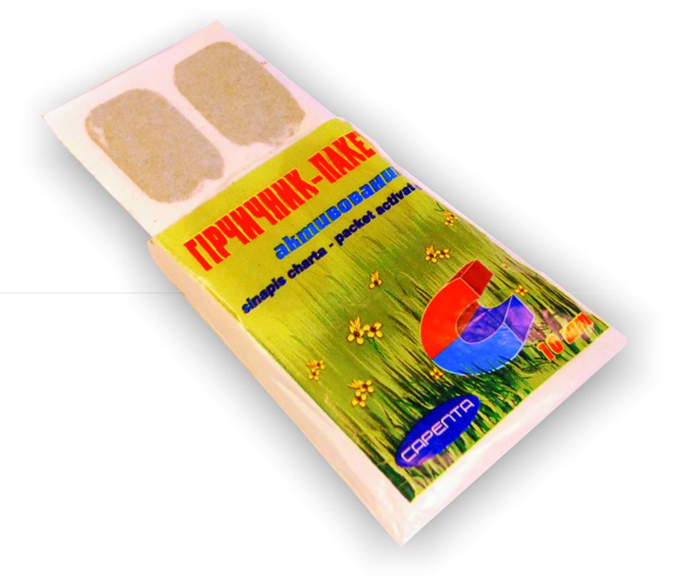 Действующее вещество горчичников - богатая эфирными маслами сухая горчица, которая воздействует местно и на симпатический отдел нервной системы больного.