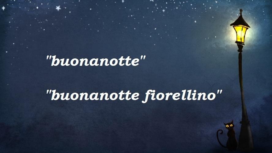 Как пожелать спокойной ночи парню по-итальянски