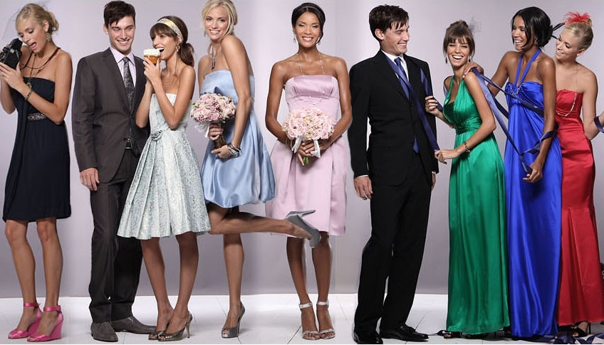 В чем ходят на свадьбу гости фото девушек