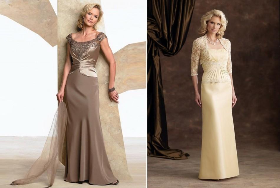Платье для церемонии венчания для женщины от сорока