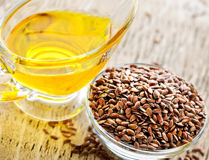 Льняное масло с чесноком -для крепкого иммунитета.